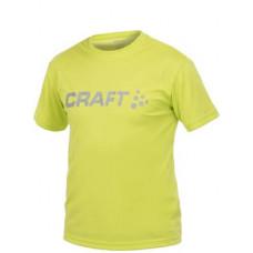 Футболка CRAFT 198921-1645 Light Logo желт.
