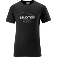 Футболка SALOMON Mountlogo Black