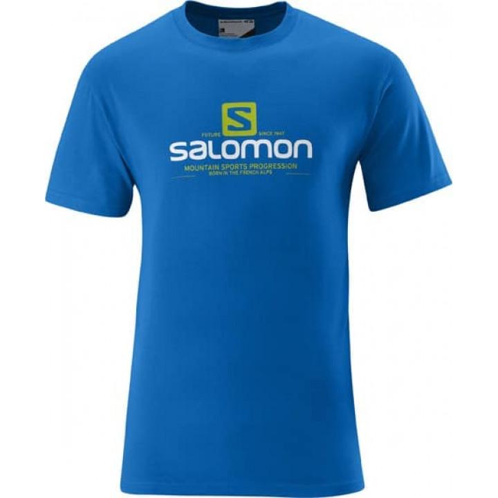 Футболка SALOMON Mountlogo Blue