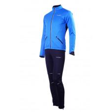 Разминочный костюм NORDSKI Premium (Soft Shell)  Blue/Black