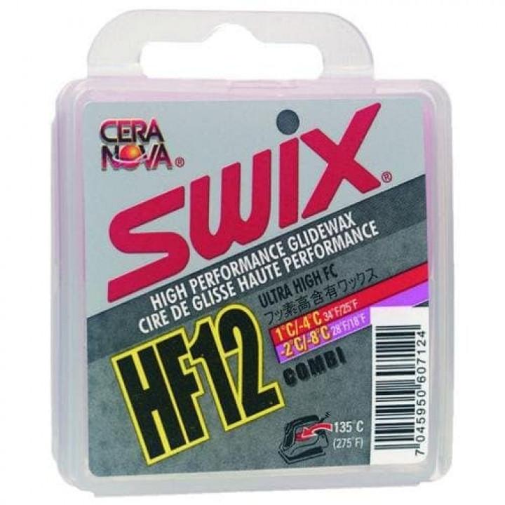 Парафин SWIX HF12 Combi (-8C/+1C) 40гр