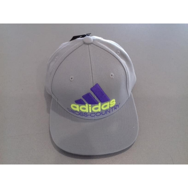 Кепка ADIDAS FLAT CAP M X C Cross-Country Серая