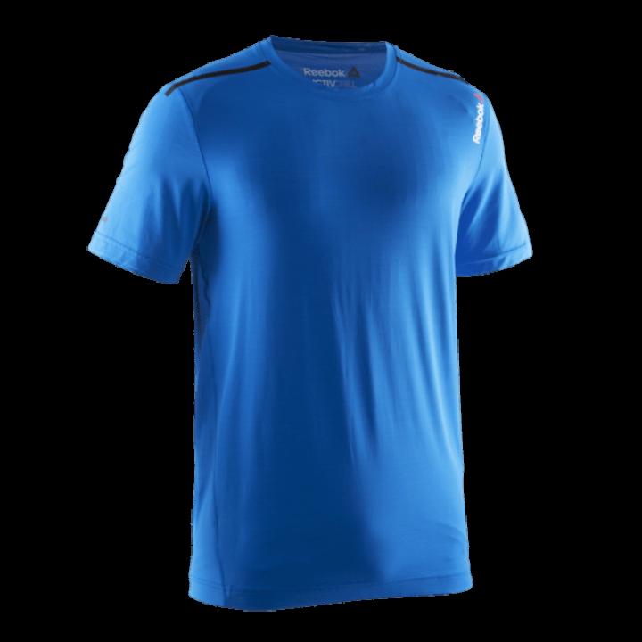 Футболка REEBOK OS ADV COOL SS blue