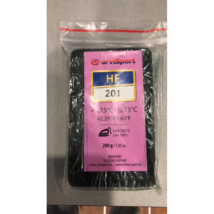Парафин ARVISPORT HF201 Red (+5.75/-5.75) 200гр