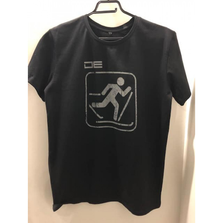 Футболка DE «SkiSport» черн.