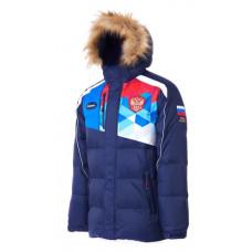 Куртка FORWARD зимняя (пуховик) мужская т.синяя