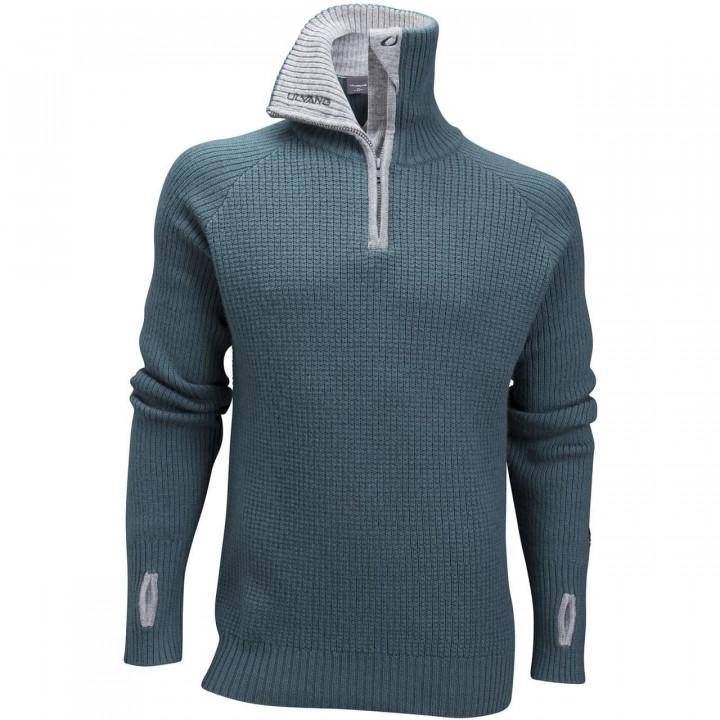 Свитер ULVANG Rav Sweater w/zip (Морской/серый) Men