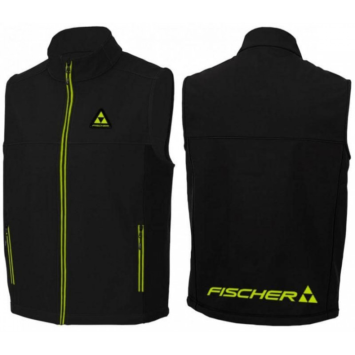 Жилет FISCHER Softshell Black (19)