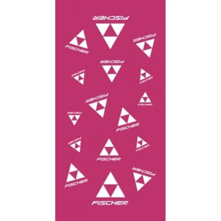 Бандана FISCHER CI-Logo (роз/бел)