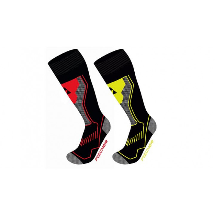 Носки FISCHER Alpin Comfort черн/желт