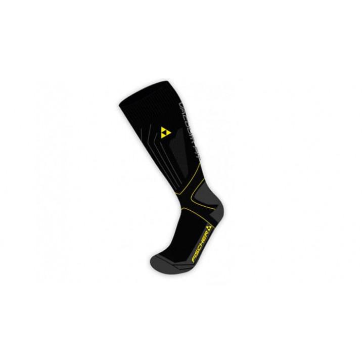 Носки FISCHER Alpin Vacuum Fit Race черн/желт