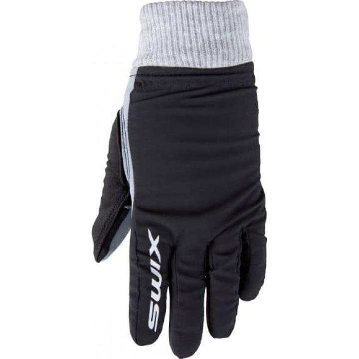 Перчатки SWIX Draco Junior (черн)