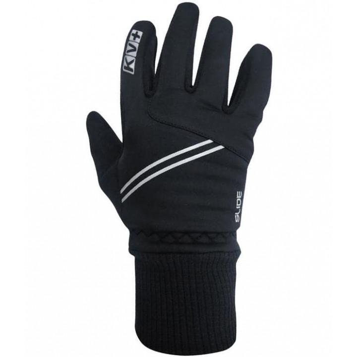 Перчатки KV+ SLIDE Junior cross country gloves черн