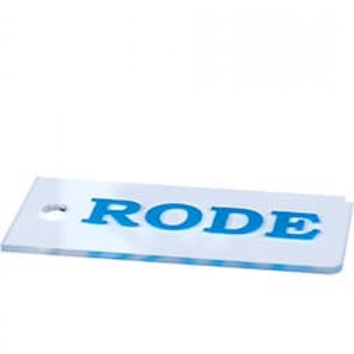Скребок RODE AR66 Little Scraper 4mm