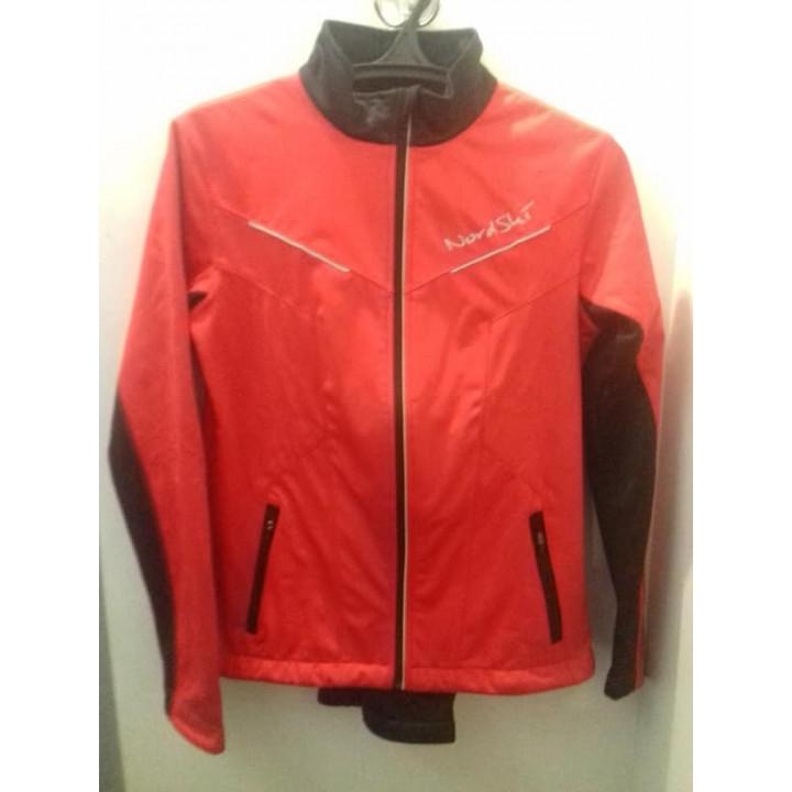 Разминочный костюм NORDSKI Jr. Premium Red/Black