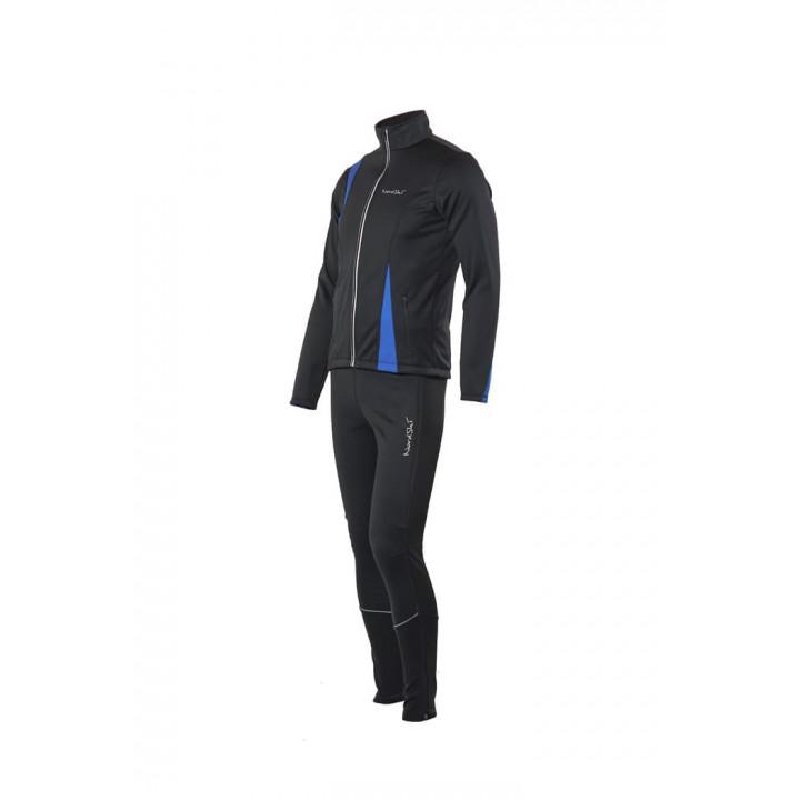 Разминочный костюм NORDSKI Active Black/Blue