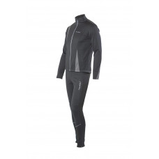 Разминочный костюм NORDSKI Active Black/Gray