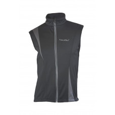 Жилет NordSki Active Black/Gray (Soft-Shell)