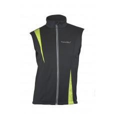 Жилет NordSki Active Black/Lime (Soft-Shell)