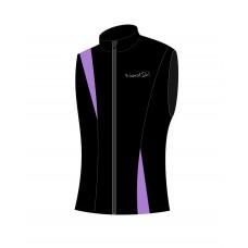 Жилет NordSki Jr. Active Black/Violet (Soft-Shell)