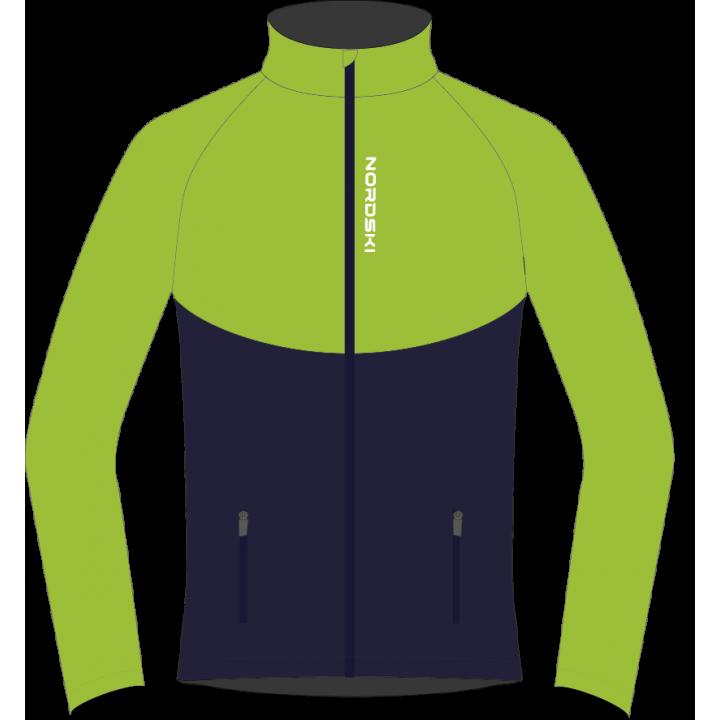 Разминочный костюм NORDSKI Jr. Premium Green/Blueberry