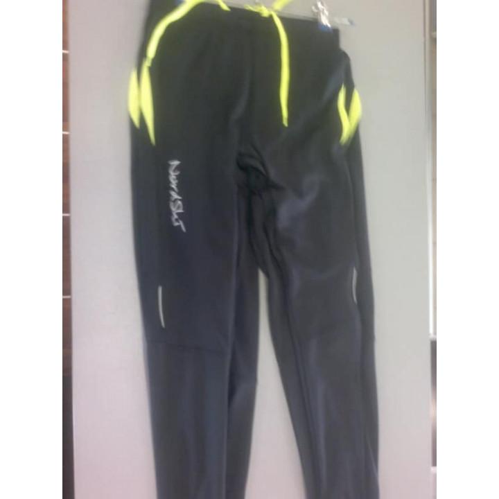 Лосины NORDSKI  Premium Black/Neon