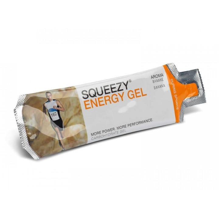 Гель с электролитами SQUEEZY Energy Gel (персик-апельсин), 33гр.
