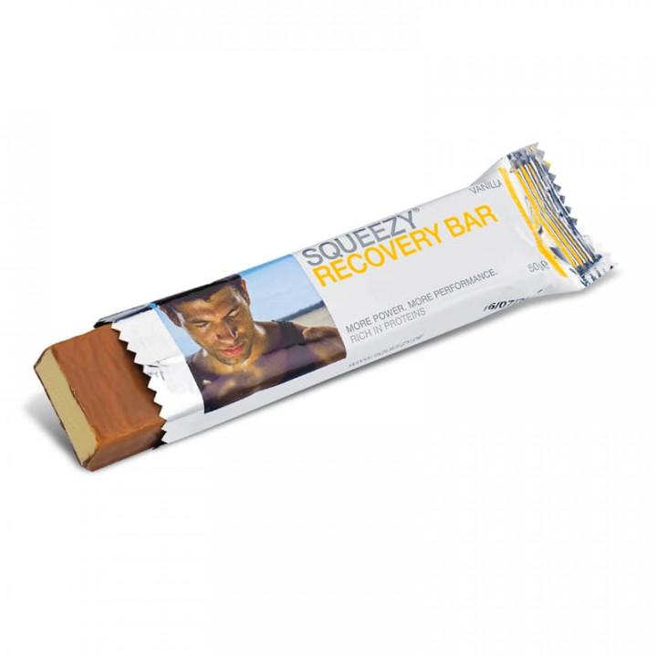 Батончик белковый с коллагеном SQUEEZY Protein Energy Bar (ваниль) 50 гр.
