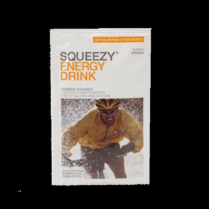 Изотоник с электролитами SQUEEZY Energy Drink (апельсин), пакетик 50гр.