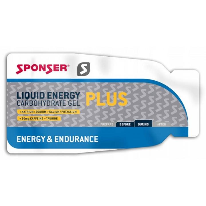 Энергетический гель SPONSER Liquid Energy Plus 35гр