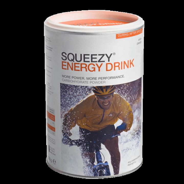 Изотоник с электролитами SQUEEZY Energy Drink (апельсин), 2000гр.