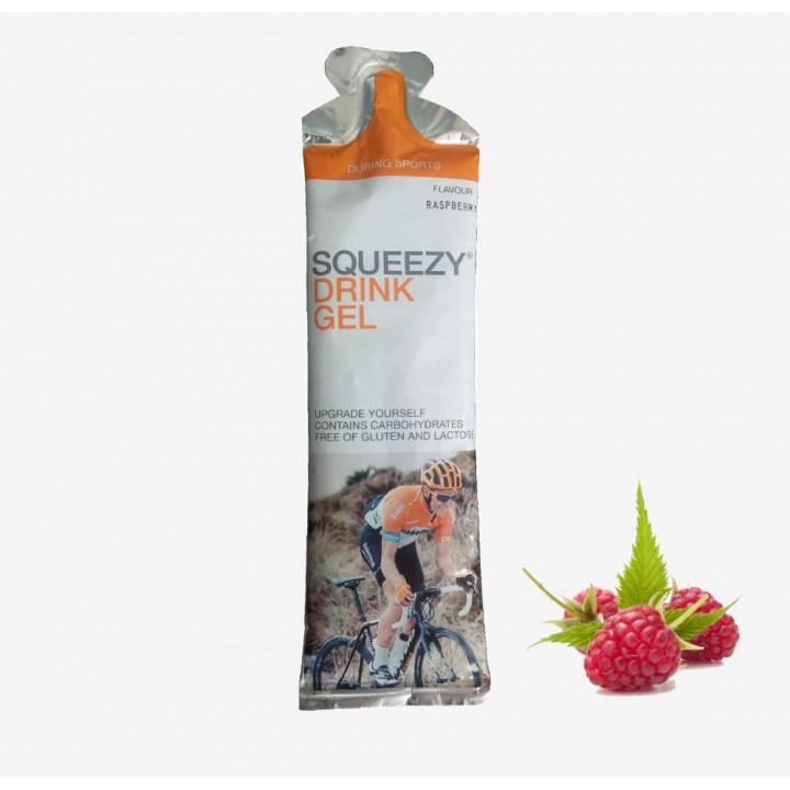 Гель питьевой с электролитами SQUEEZY Drink Gel  (малина) 60гр