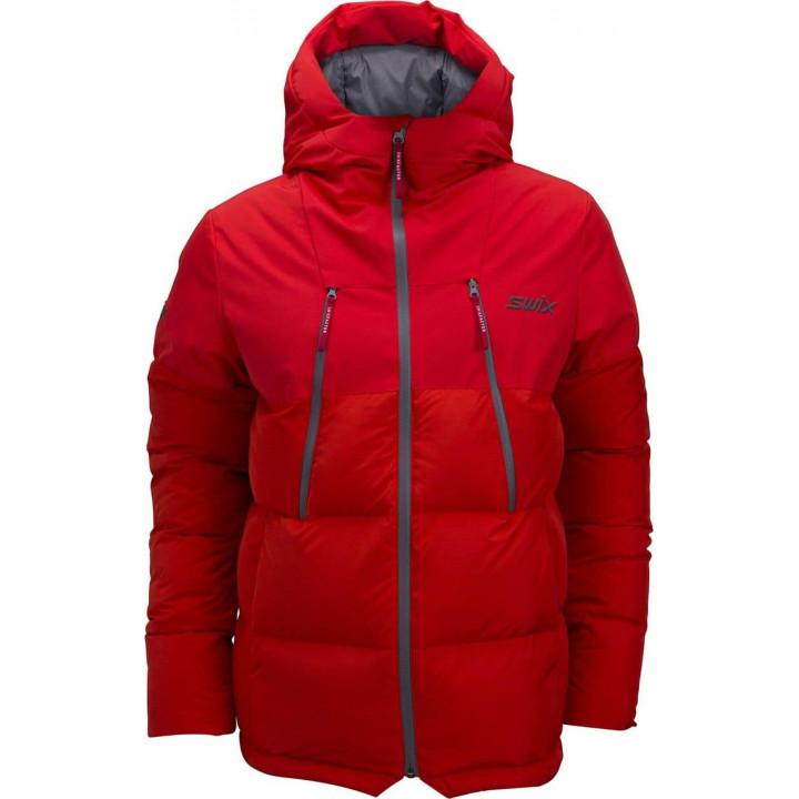 Куртка-парка пуховая SWIX Surmount U (красный)