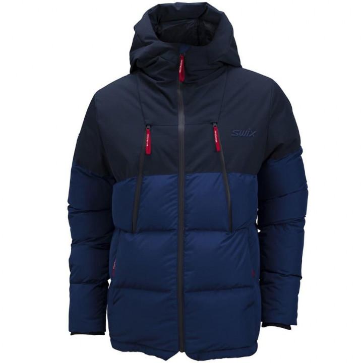Куртка-парка пуховая SWIX Surmount U (т.синий)