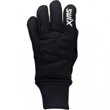 Перчатки SWIX Pollux Junior (черн)