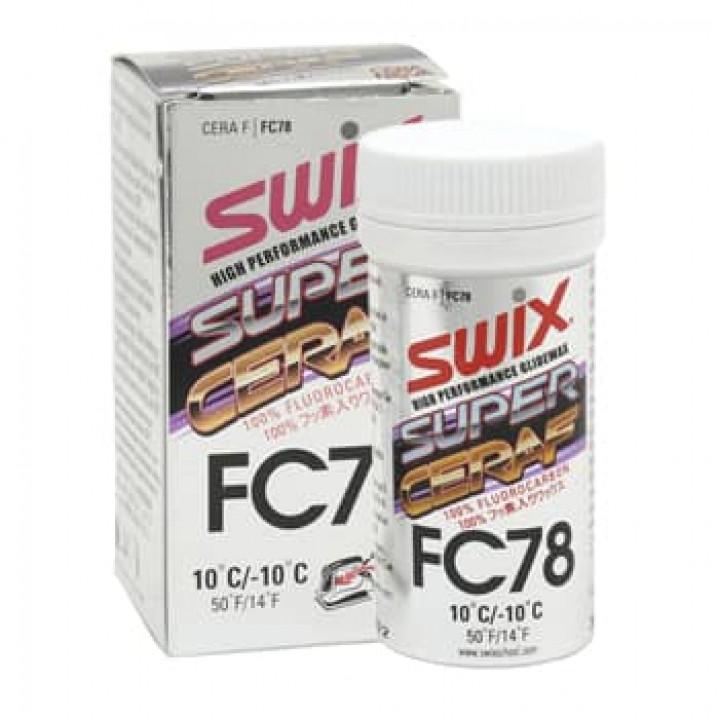 Порошок SWIX Super Cera FC78 (+10C/-10C) 30гр