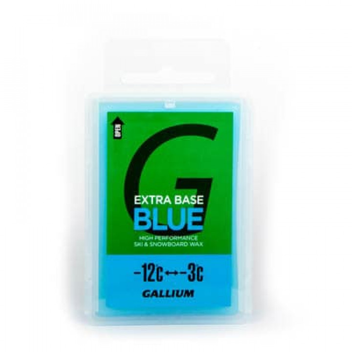 Парафин GALLIUM Extra Base Wax (-12C/-3C) 100г Blue
