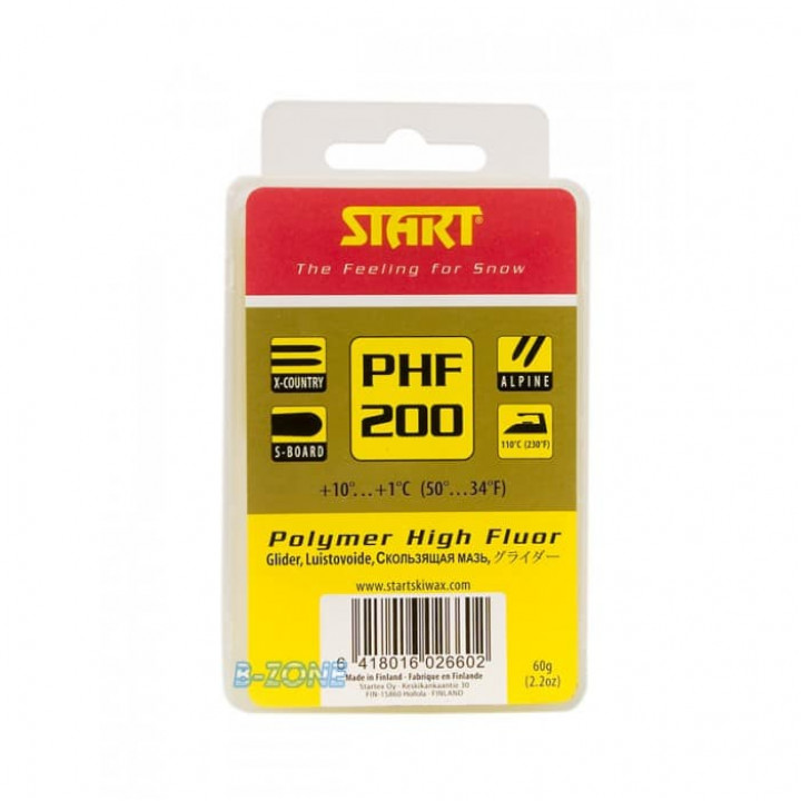 Парафин START PHF200 (+10C/+1C) 60гр.