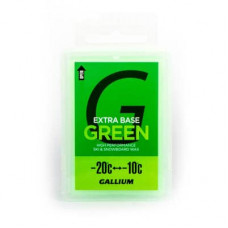Парафин GALLIUM Extra Base Wax (-20C/-10C) 100г Green