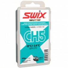 Мазь скольжения SWIX CH5X Turq. 60гр (-8С/-14C)