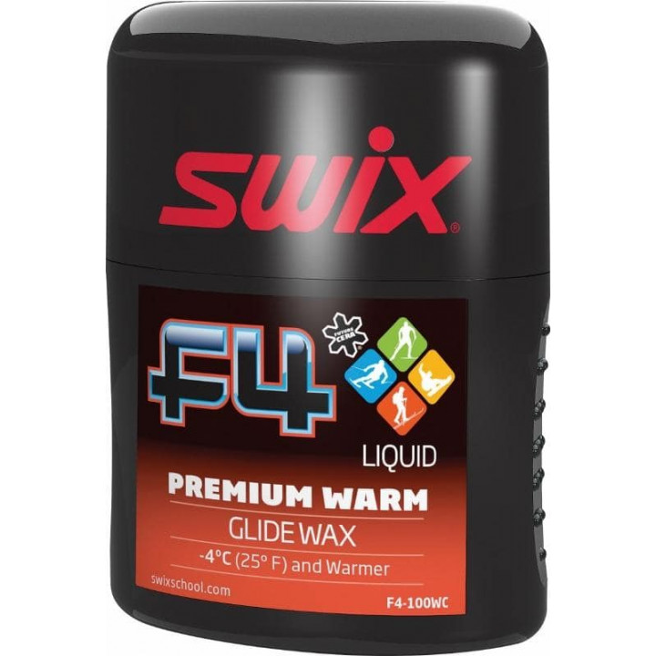 Эмульсия SWIX F4 Premium Warm +4C 100мл