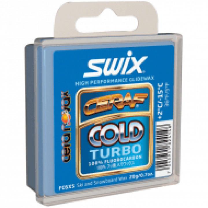 Прессовка SWIX FC6XS Gold Turbo (+2C/-15C)