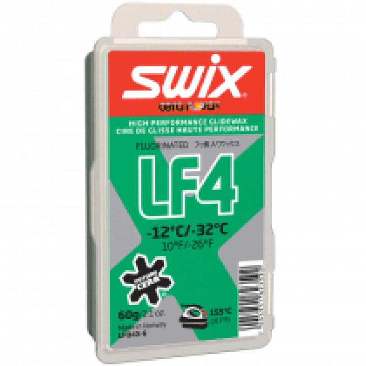 Мазь скольжения SWIX LF4X Green 60гр (-12С/-32C)
