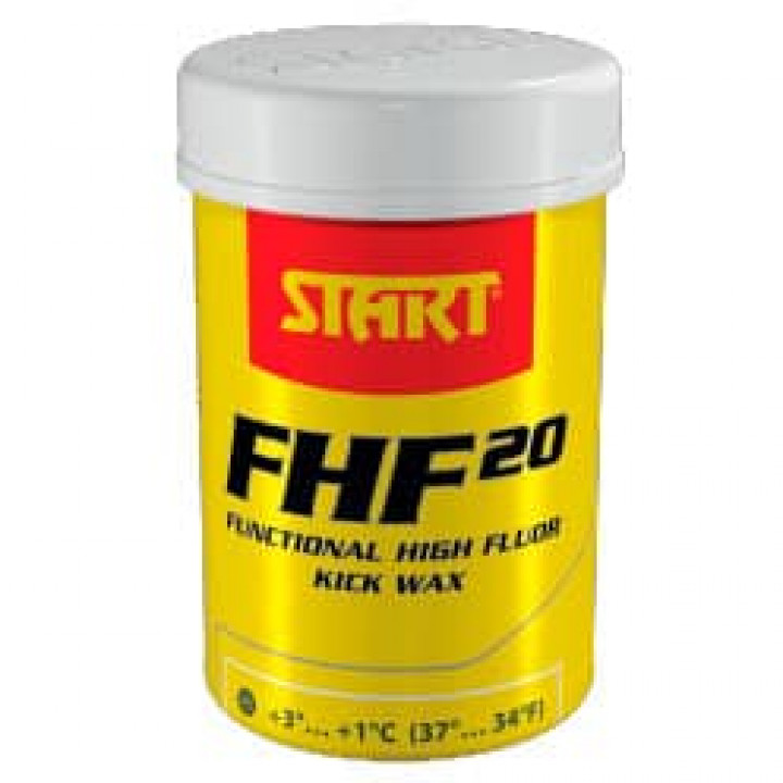 Мазь START FHF20 Fluor Kick Yellow (+3C/+1C)