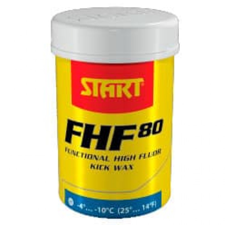 Мазь START FHF80 Fluor Kick Blue (-4C/-10C)
