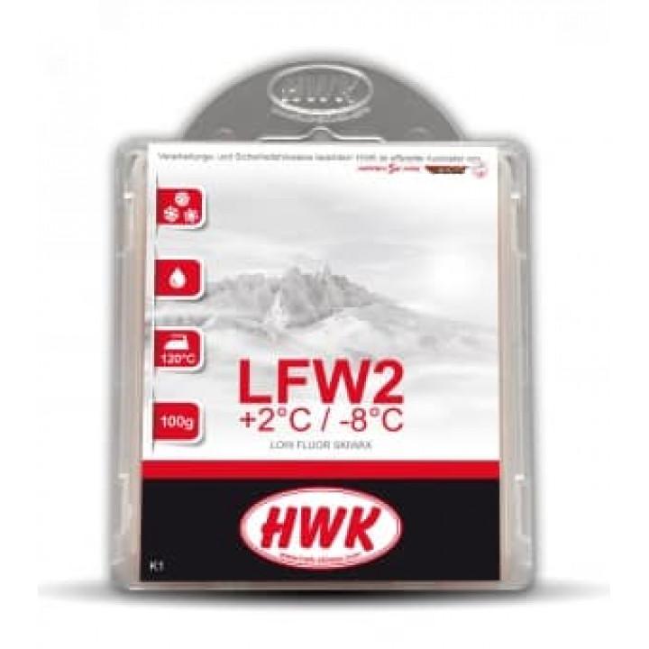Парафин HWK LFW 2 Nero (+2C/-8C) 100гр.