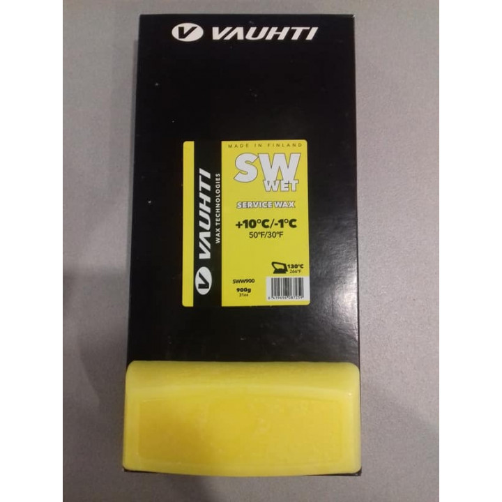 Парафин VAUHTI SW WET Yellow (+10/-1) 180гр