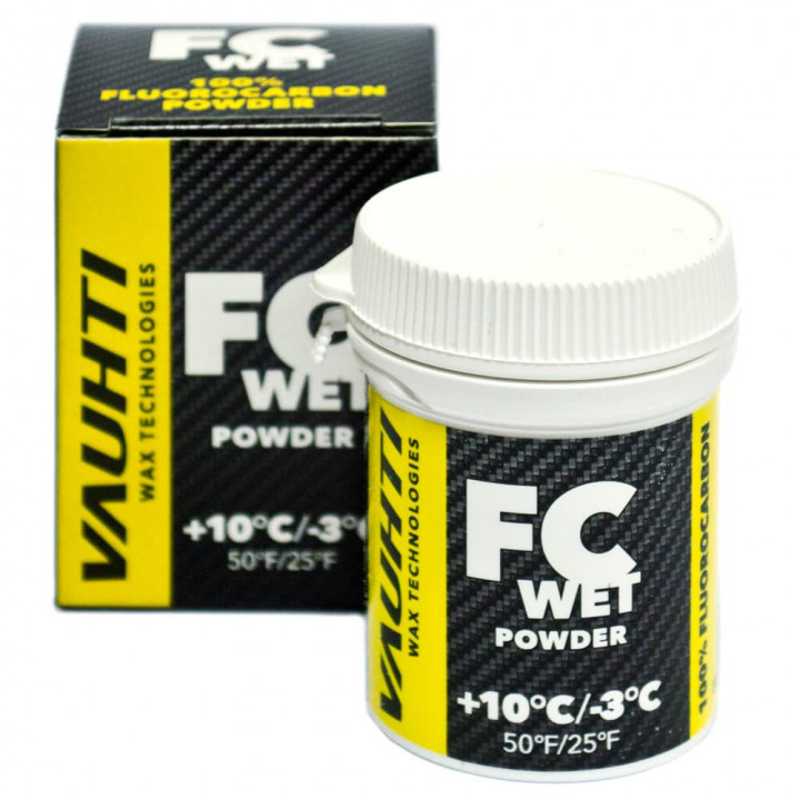 Порошок VAUHTI FC WET (+10C/-3C) 30гр