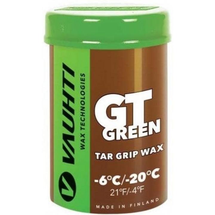 Мазь VAUHTI TAR GRIP GT GREEN (-6C/-20C) 45гр