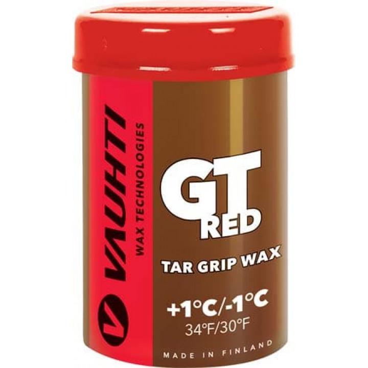 Мазь VAUHTI TAR GRIP GT RED (+1C/-1C) 45гр